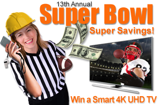 Super Bowl, Super Savings Giveaway